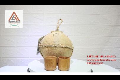 Video rượu dừa Âu Lạc trái thường dây lục bình