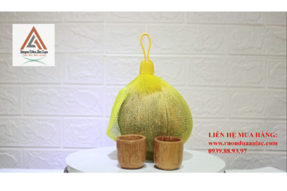Video Rượu Dừa Âu Lạc túi lưới